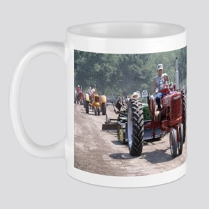 Tractor on Dirty Road Mug