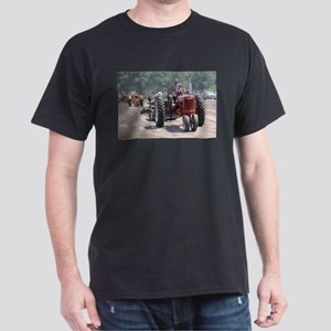 Tractor on Dirty Road Dark T-Shirt