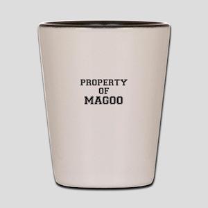 Property of MAGOO Shot Glass