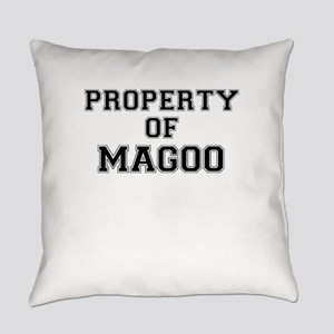 Property of MAGOO Everyday Pillow