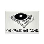 The Tables Have Turned Rectangle Magnet (10 pack)