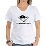 The Tables Have Turned Women's V-Neck T-Shirt