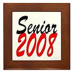 Senior 2008 ver2 Framed Tile