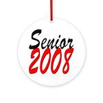 Senior 2008 ver2 Ornament (Round)