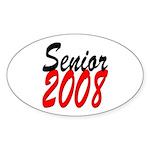 Senior 2008 ver2 Oval Sticker