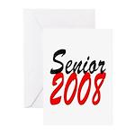 Senior 2008 ver2 Greeting Cards (Pk of 10)