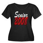 Senior 2008 ver2 Women's Plus Size Scoop Neck Dark