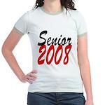 Senior 2008 ver2 Jr. Ringer T-Shirt