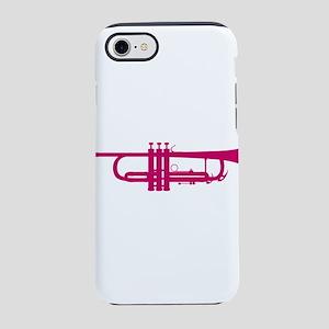 Pink Trumpet iPhone 8/7 Tough Case