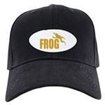 Frog shirts Black Cap