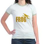 Frog shirts Jr. Ringer T-Shirt