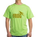 Frog shirts Green T-Shirt