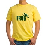 Frog shirts Yellow T-Shirt