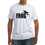 Frog shirts Fitted T-Shirt