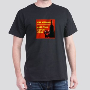 WIFE WANTED Dark T-Shirt