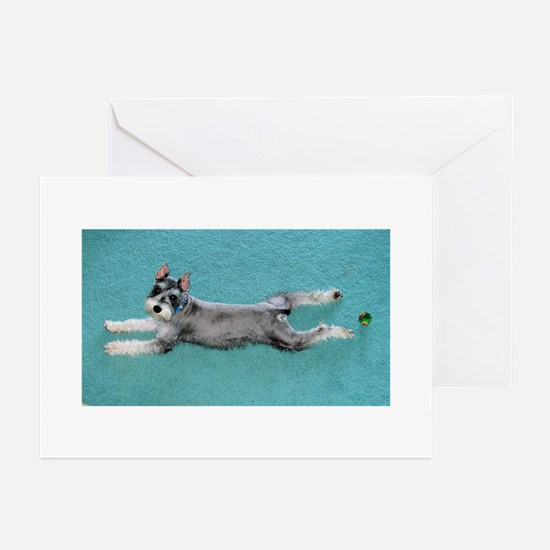 Puppy Yoga Greeting Cards