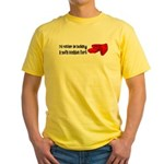 Sofa Cushion Fort Yellow T-Shirt