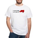 Sofa Cushion Fort White T-Shirt