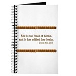 Too Fond of Books Journal