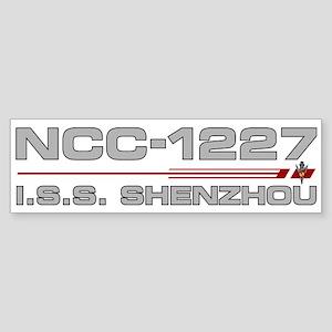 ISS Shenzhou Bumper Sticker