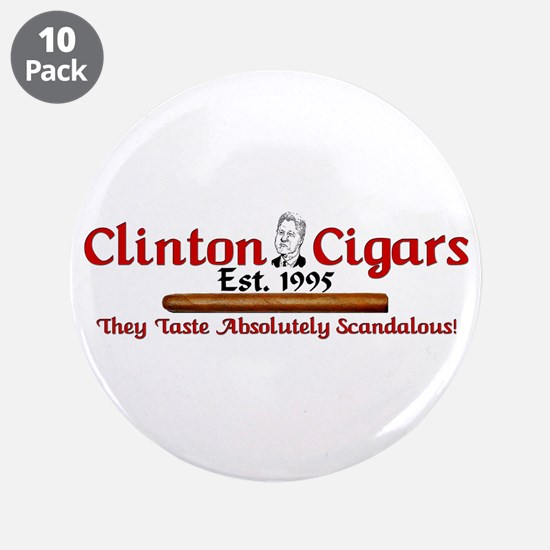 """Clinton Cigars: They Taste Scandalous"" (10 pack)"