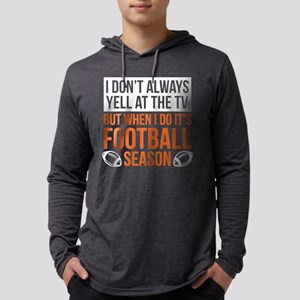 Football Season Long Sleeve T-Shirt