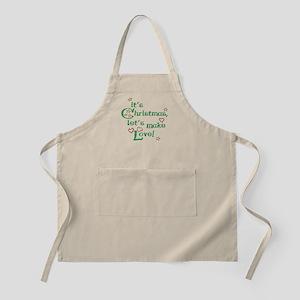 Christmas love BBQ Apron