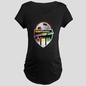 Ghana Soccer 2006 Maternity Dark T-Shirt