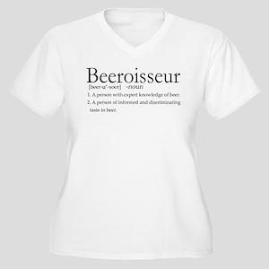 Beeroisseur Women's Plus Size V-Neck T-Shirt