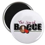 Joy of Bocce Magnet