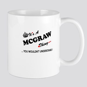 MCGRAW thing, you wouldn't understand Mugs
