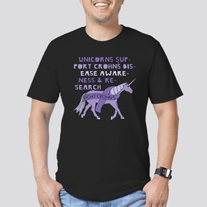 Unicorns Support Crohn's Disease Awareness T-Shirt