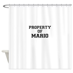 Mario Shower Curtains