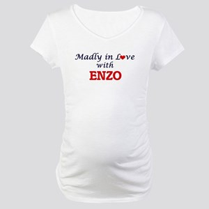 Madly in love with Enzo Maternity T-Shirt
