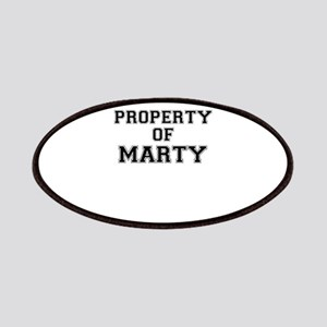Property of MARTY Patch
