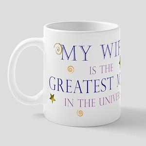 My Wife is the Greatest Mom i Mug