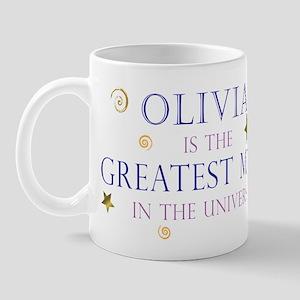 Olivia is the greatest Mom Mug