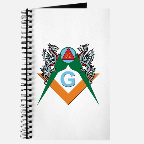 Masons 32nd Degree with Dragons Journal
