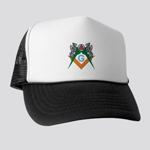 Masons 32nd Degree with Dragons Trucker Hat