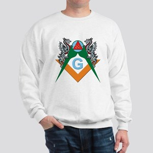 Masons 32nd Degree with Dragons Sweatshirt