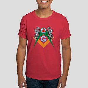 Masons 32nd Degree with Dragons Dark T-Shirt