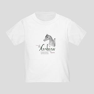 The Classic Arabian Horse Toddler T-Shirt