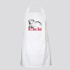 He's Back baby! BBQ Apron