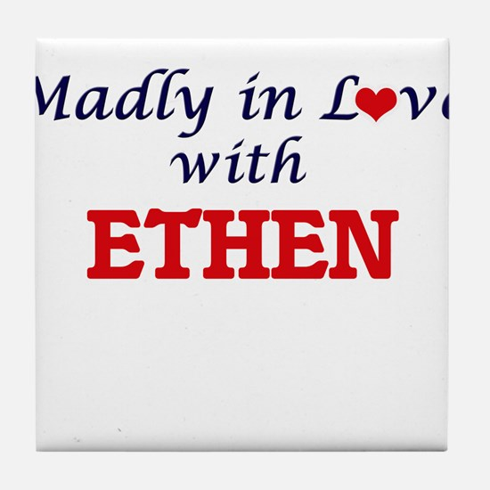 Madly in love with Ethen Tile Coaster