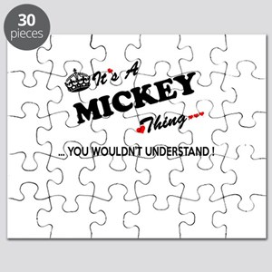 MICKEY thing, you wouldn't understand Puzzle