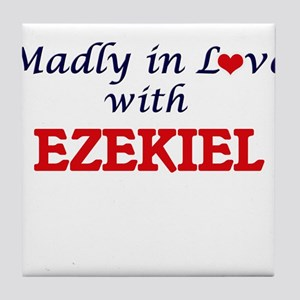 Madly in love with Ezekiel Tile Coaster