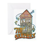 710 ASHBURY - Grateful Dead House - Original Art G
