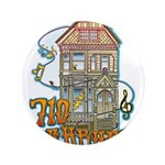 710 ASHBURY - Grateful Dead House - Original Art 3