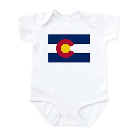 """Colorado State Flag"" Infant Bodysuit"