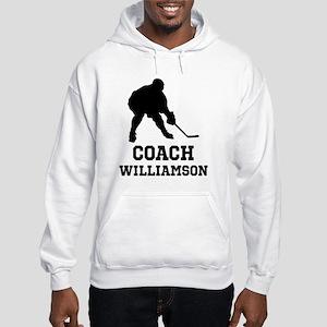 Personalized Hockey Coach Hoodie